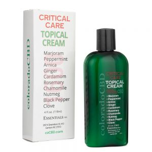 1600mg CBD Topical Cream Critical Care